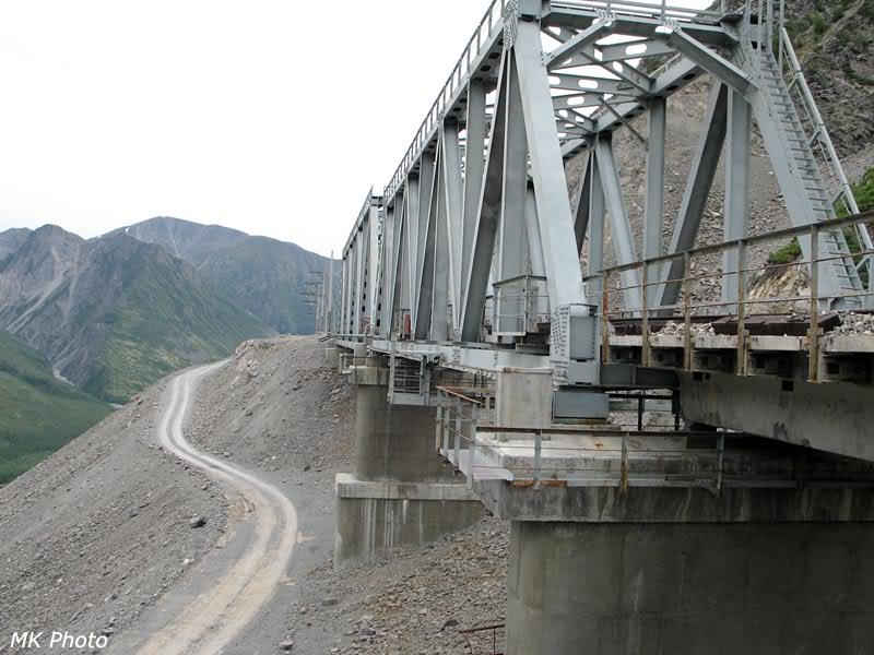 Мост над сухой падью