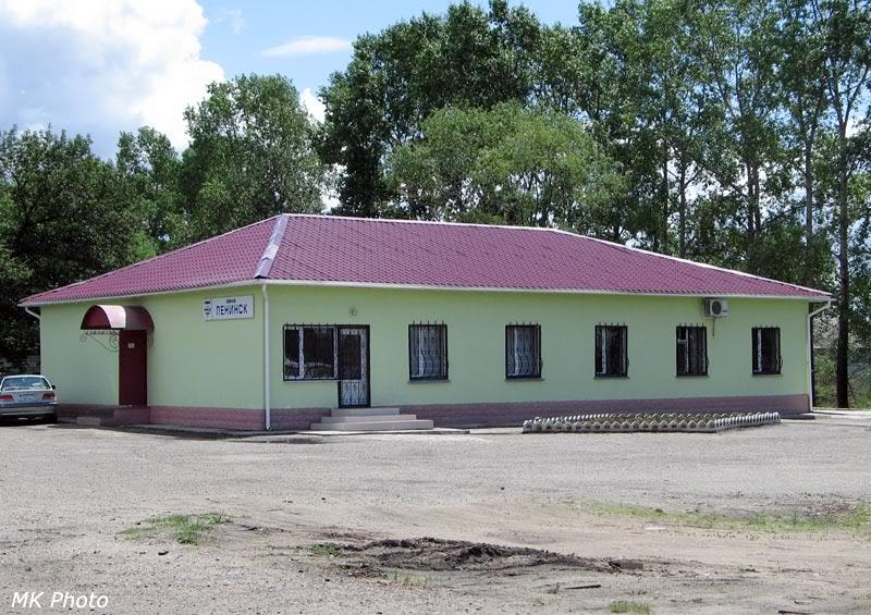Служебное здание Ленинск