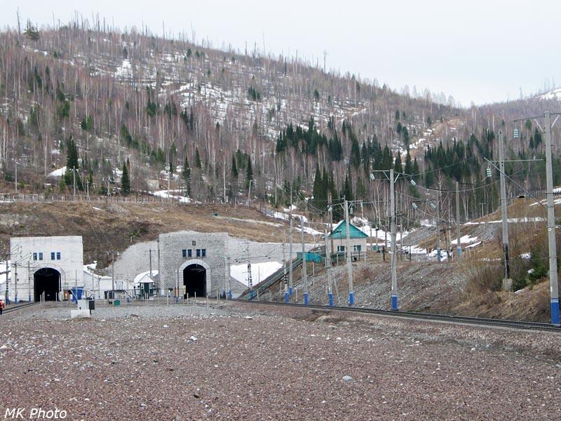 Западный портал Нанчхульского тоннеля