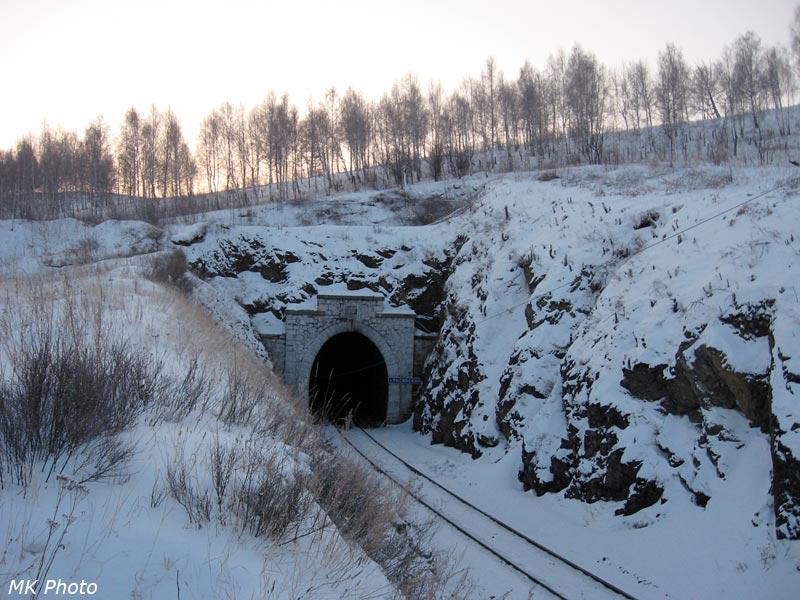 Северный портал Тисинского тоннеля