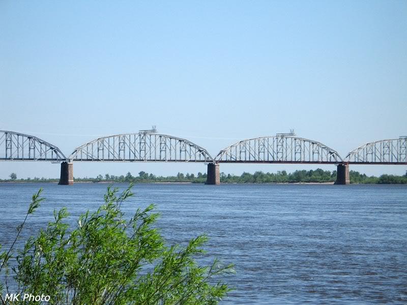 Мост через Зею, фрагмент