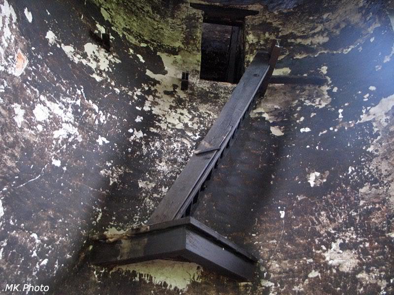 Остатки лестницы