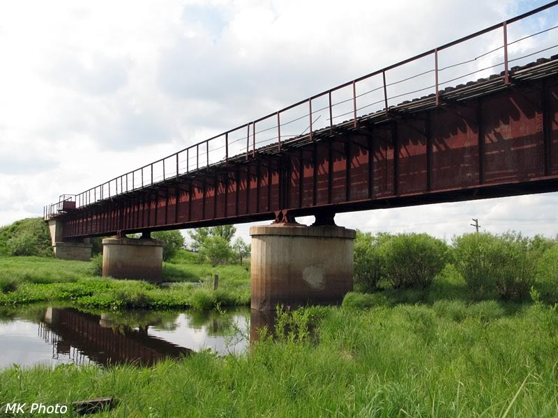 Мост через р. Половинка