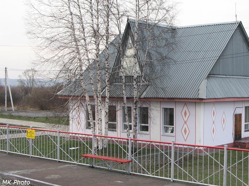 Служебное здание Мыски