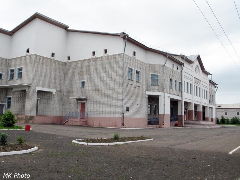 Вокзал Архара с перрона