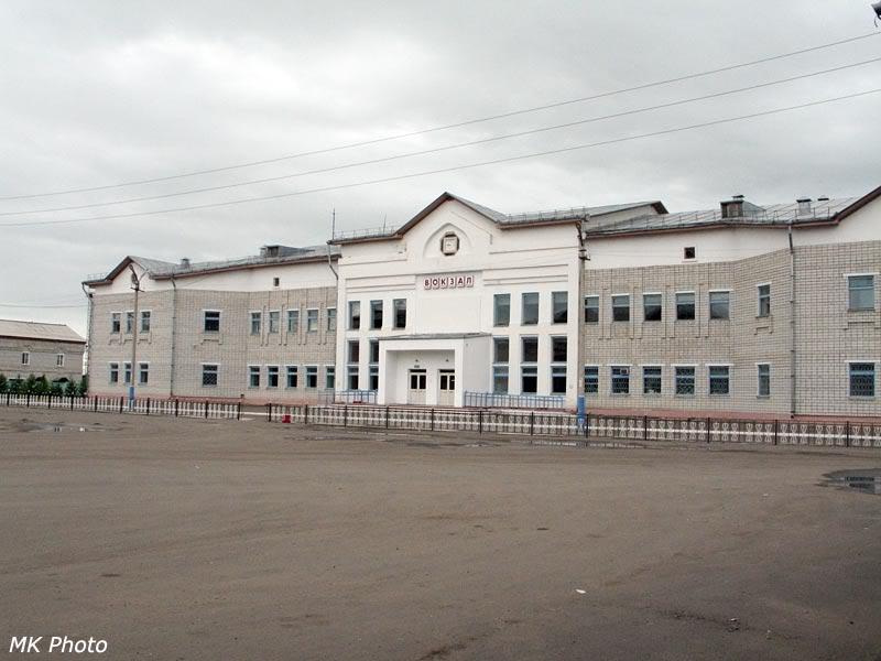 Вокзал Архара с привокзальной площади