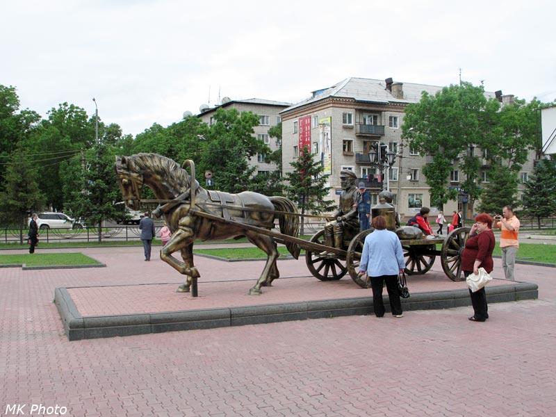 Памятник Тевье-молочнику