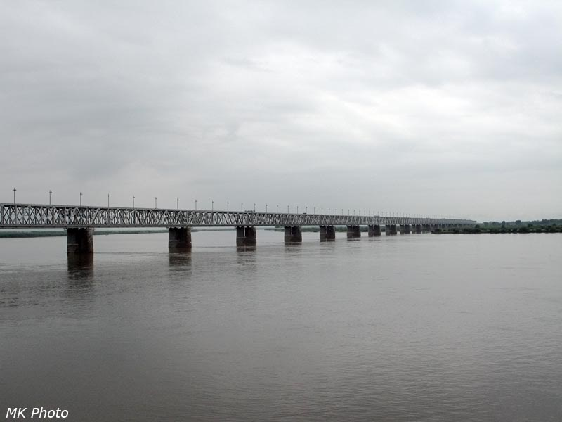 Мост через Амур, общий вид