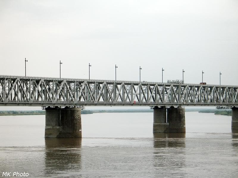 Мост через Амур, фрагмент