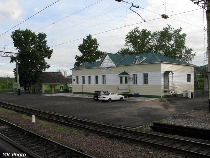 Вокзал Корфовская