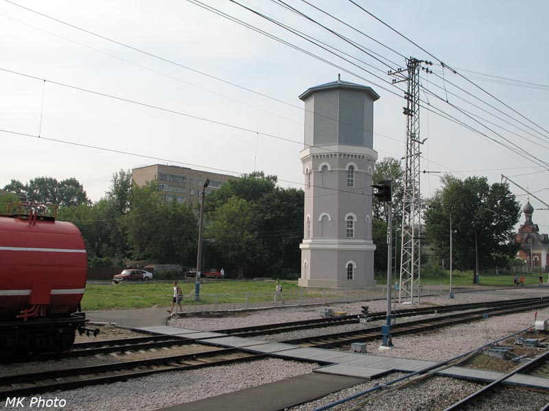 Водонапорная башня в Александрове