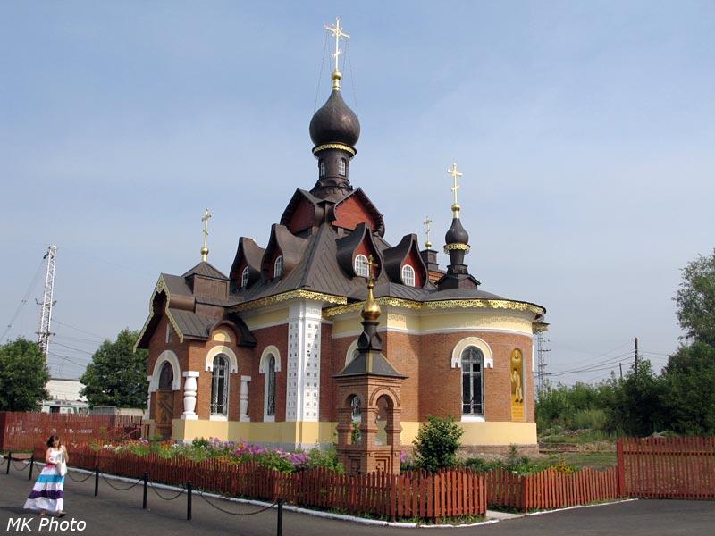 Серафимовская церковь у станции Александров-1