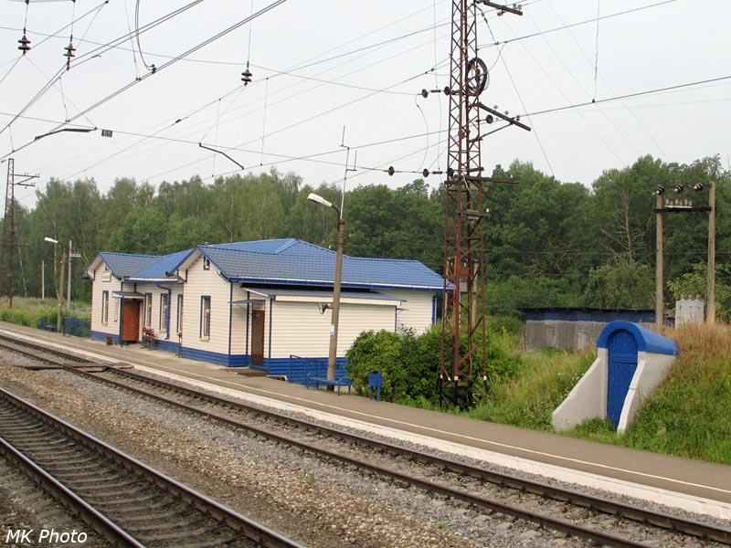 Шушково - вокзал и НУП