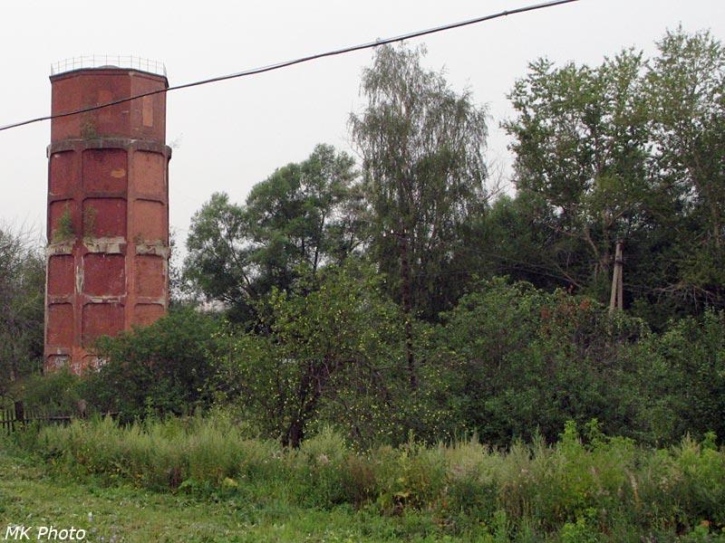 Водонапорная башня на ст. Рязанцево