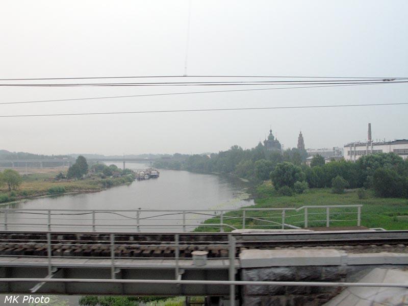 Вид с моста через Которосль