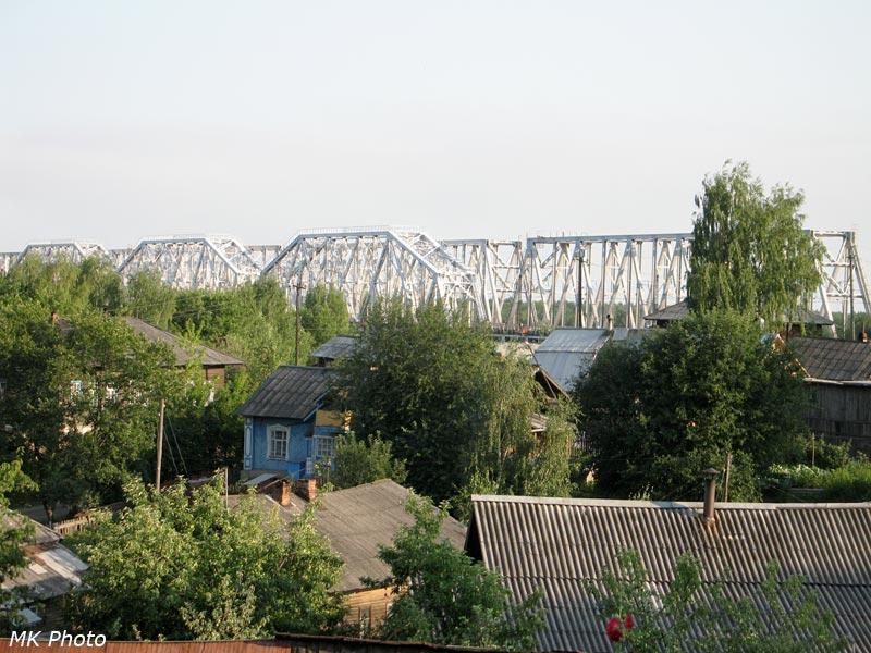 Железнодорожный мост через Вятку