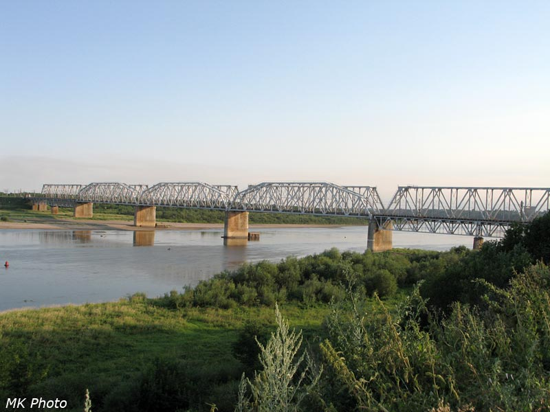 Ж/д мост через Вятку