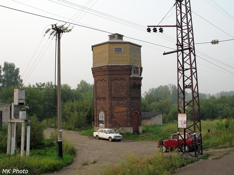 Водонапорная башня на ст. Оричи