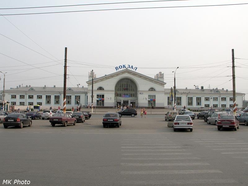 Вокзал Киров с привокзальной площади