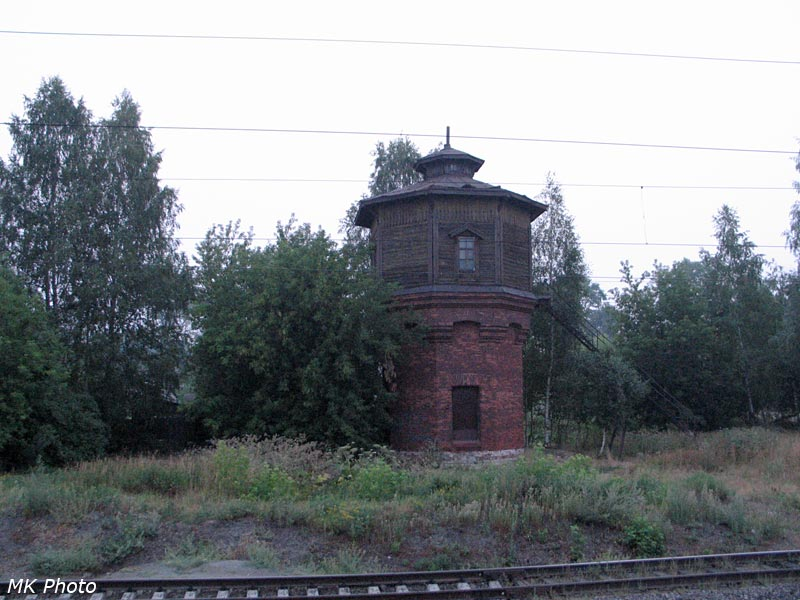 Водонапорная башня на ст. Просница