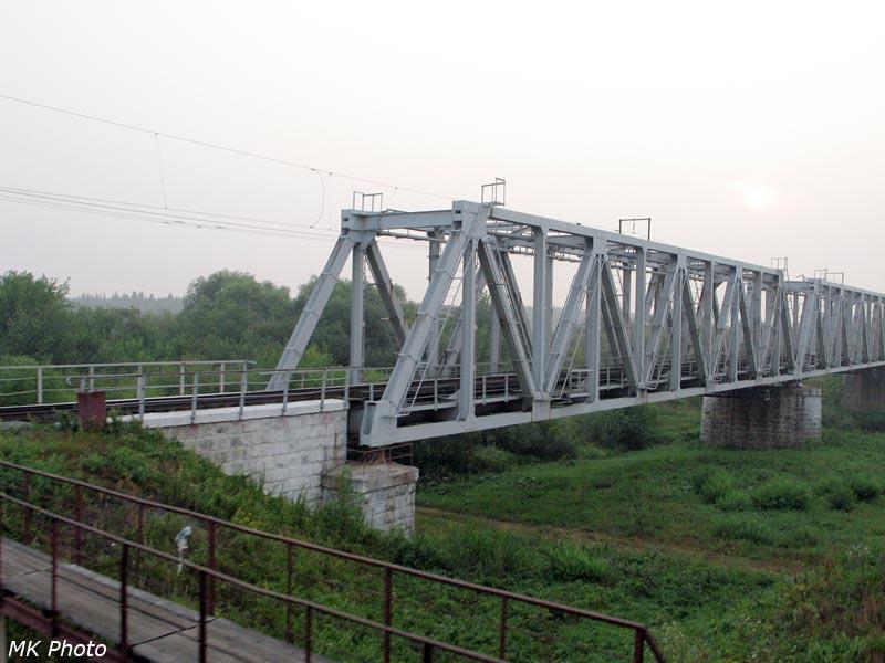 Мост через р. Коса