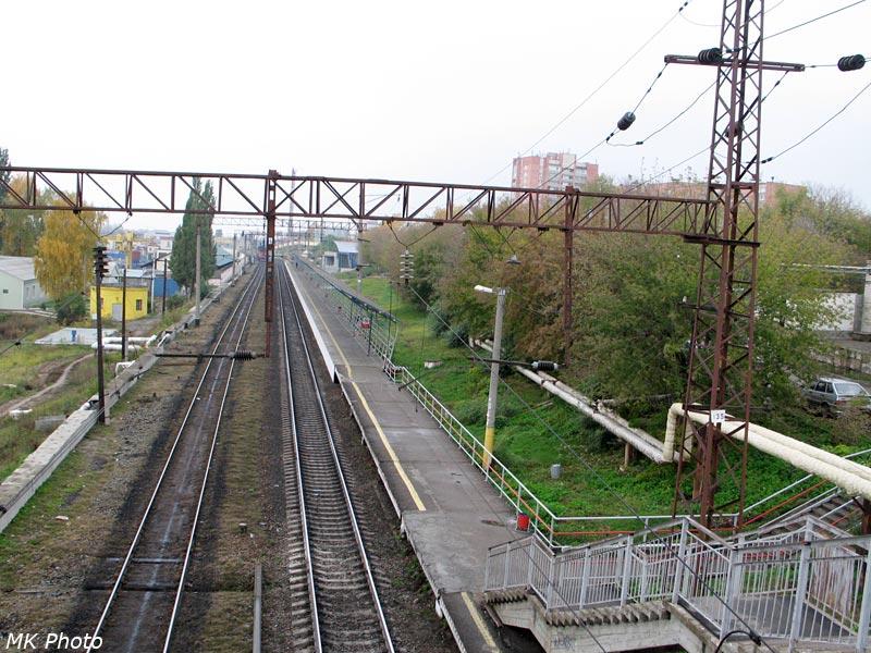 Нечётная платформа Юдино