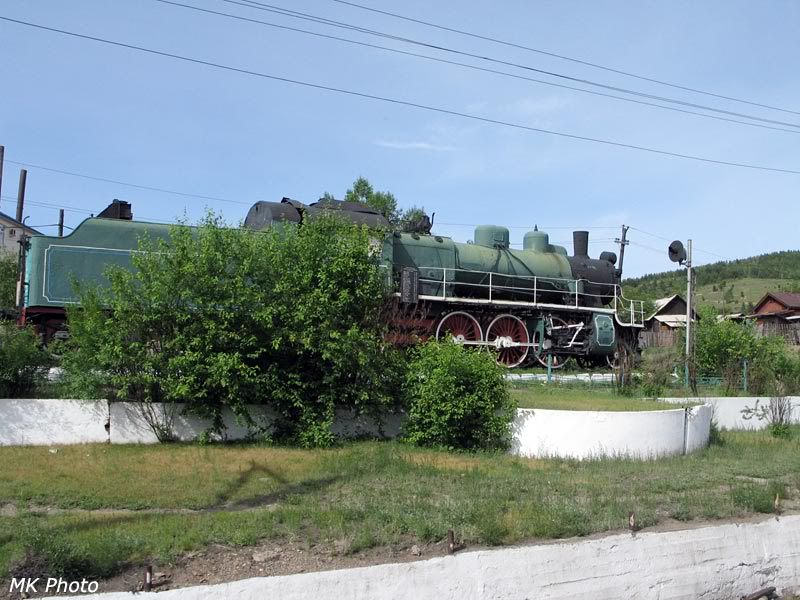 Паровоз Су на станции Хилок