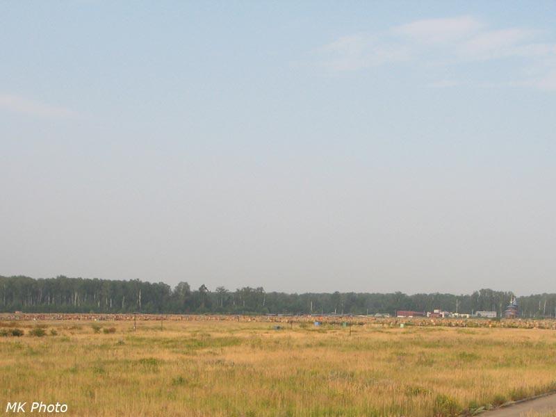 Новое Богородское кладбище на 62 км