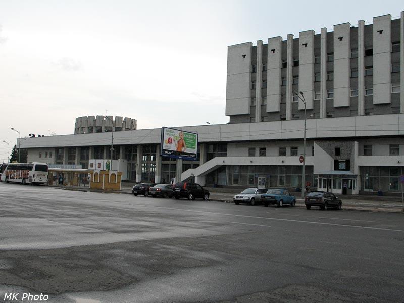 Вокзал Владимира, вид с привокзальной площади