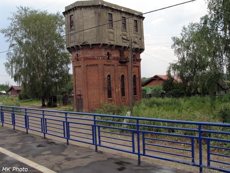 Водонапорная башня на станции Второво