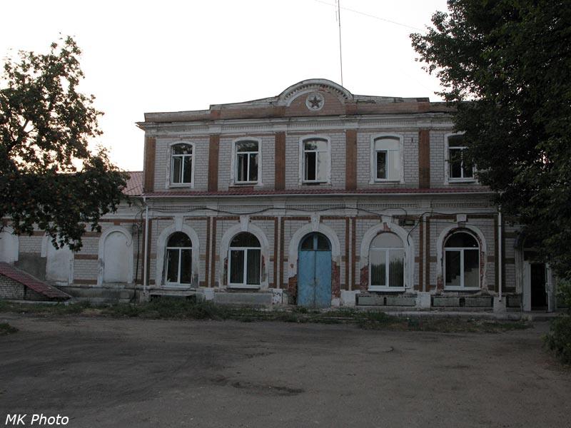 Вокзал Гороховец со стороны посёлка