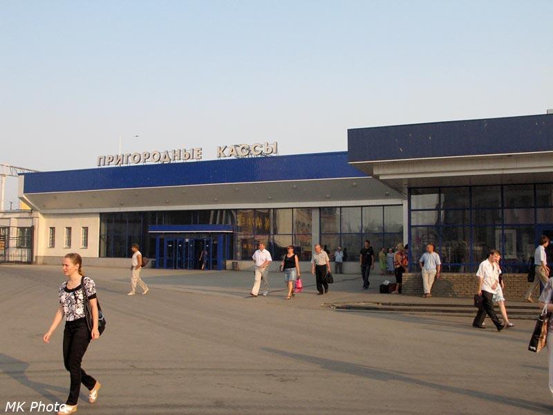 Пригородный павильон на станции Нижний Новгород-Московский