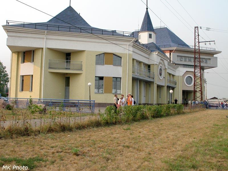 Вокзал Семёнов, вид с перрона