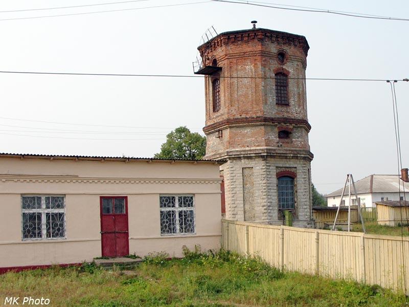 Водонапорная башня на ст. Чепца