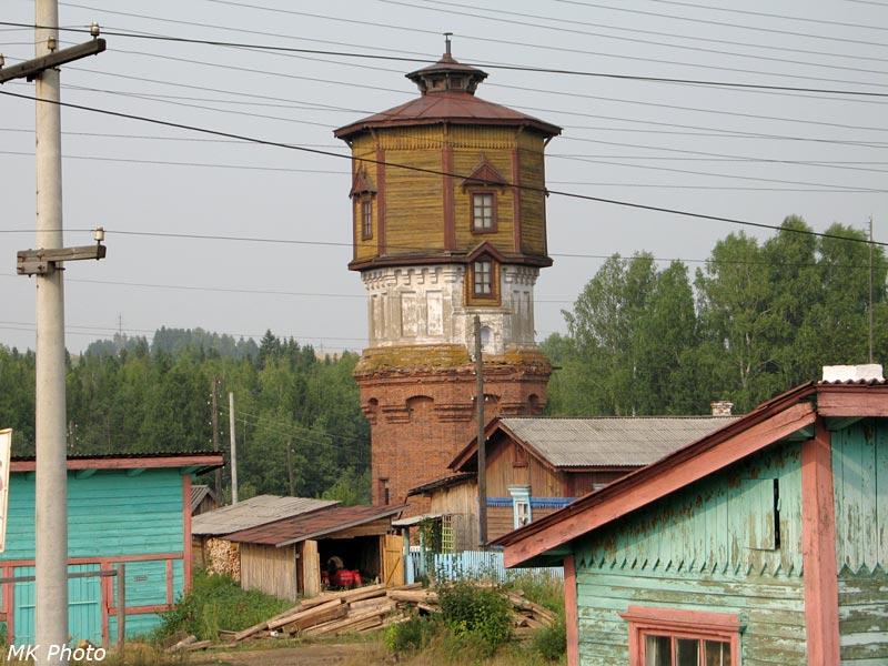 Водонапорная башня на ст. Кузьма