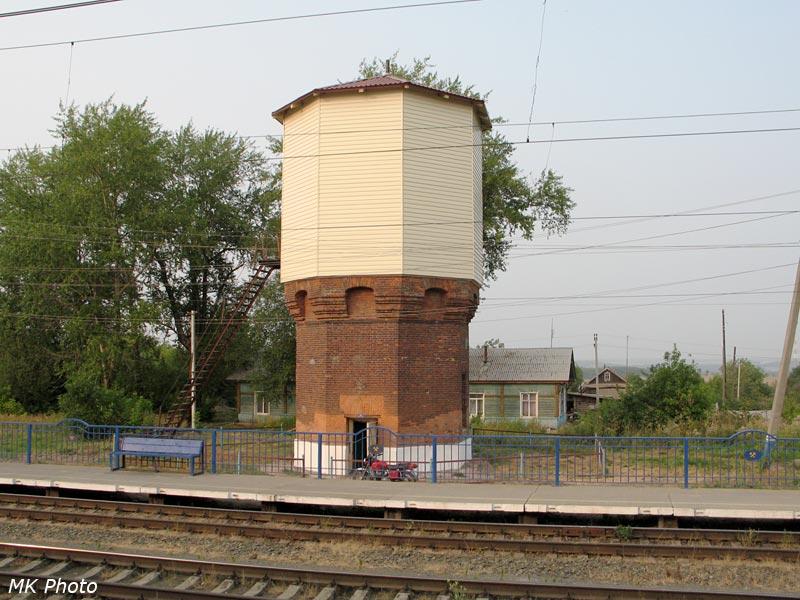 Водонапорная башня на ст. Григорьевская