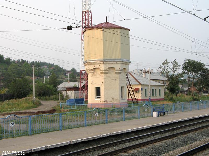 Водонапорная башня на ст. Шабуничи