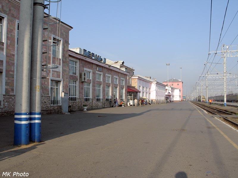 Пермь-2, вид со стороны Горнозаводского направления