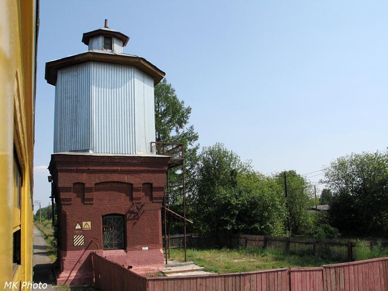Водонапорная башня на ст. Пышминская