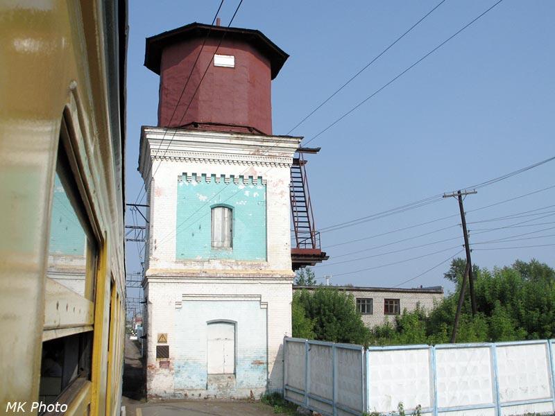 Водонапорная башня на ст. Талица