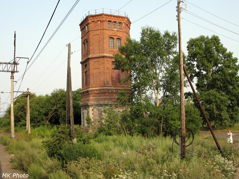 Водонапорная башня на ст. Кармак