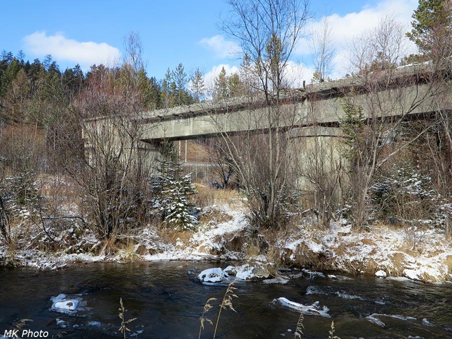Мост через р. Малая Олха