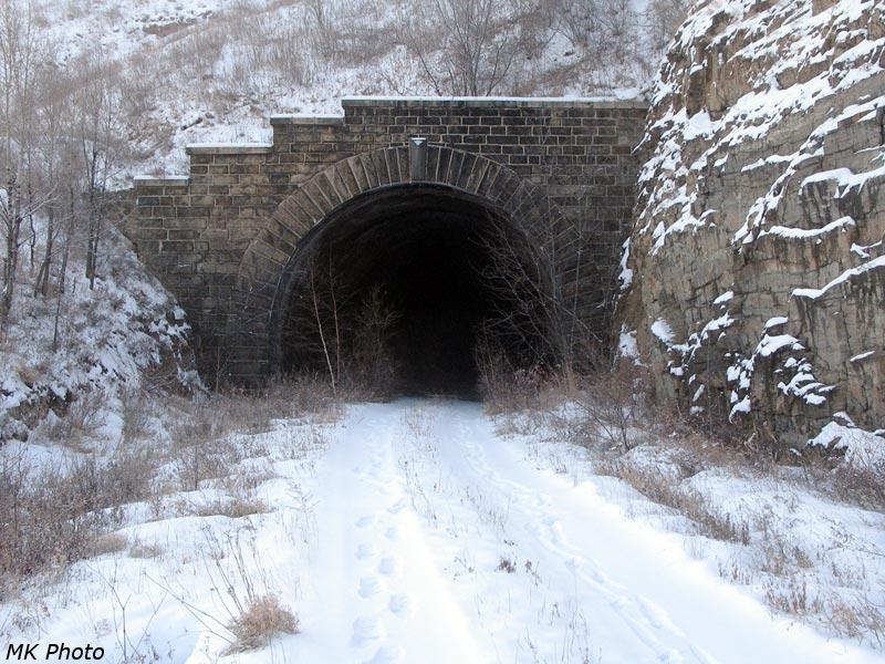 """Восточный портал тоннеля """"Укурейский"""""""