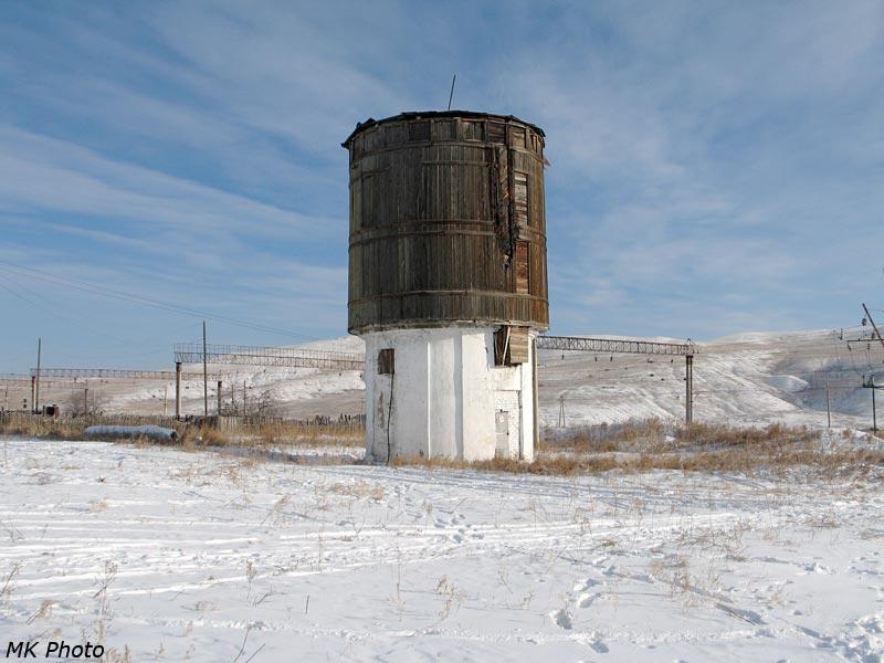 Водонапорная башня в Укурее