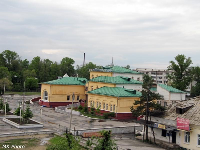 Вокзал Шимановская