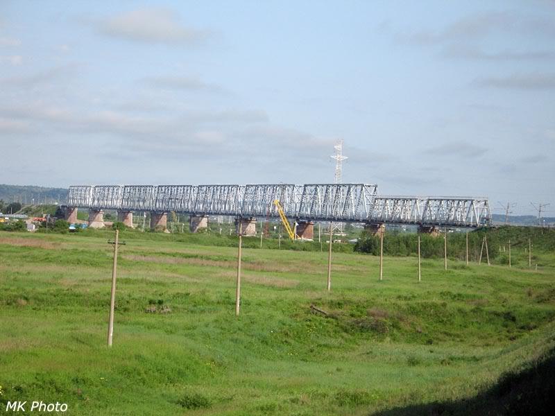 Нечётный мост через Зею