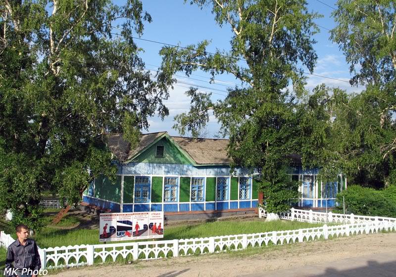 Вокзал Возжаевка