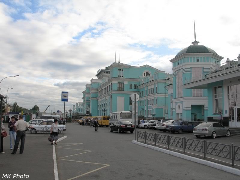 Вокзал Омск